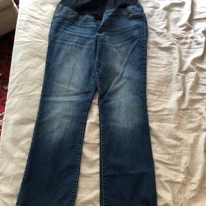 Ingrid and Isabel bootcut maternity jeans